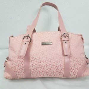 Rosetti Pink Coach Style Bag Purse Shoulder Bag